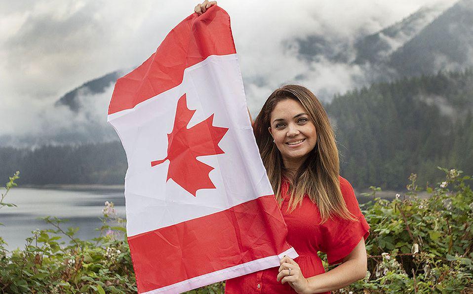 Cecilia Morfín desde Canadá.