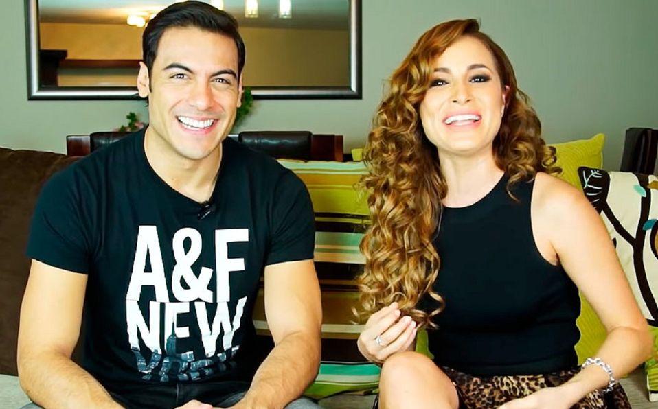 Carlos Rivera y Cynthia Rodríguez: Su extraña historia de amor (Foto: Youtube)