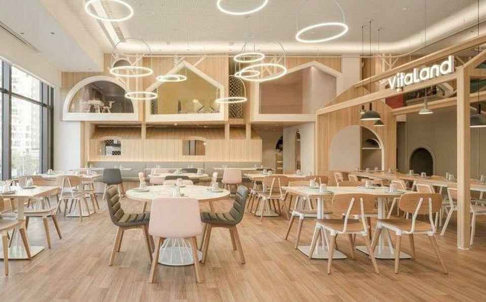 Vitaland Kid Restaurant en Beijing logró la conexión familiar gracias a su sútil arquitectura lúdica.