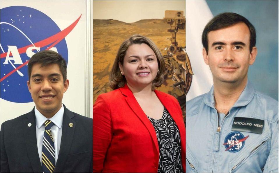 Mexicanos que han sido reclutados por la NASA (Foto: Instagram)