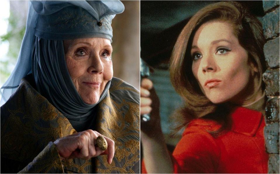 Diana Rigg falleció a los 82 años: Así fue antes y después de Game of thrones (Foto: Instagram)