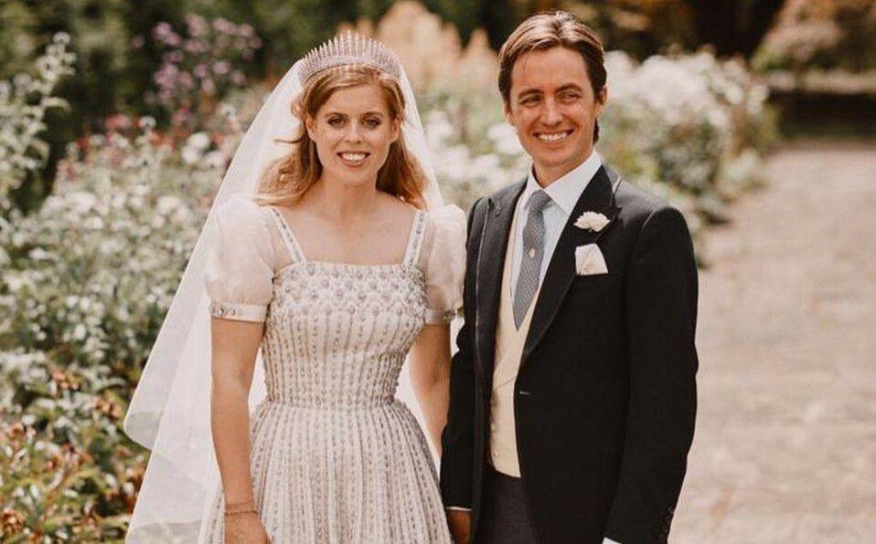 Eugenia de York y su esposo. Foto: Instagram