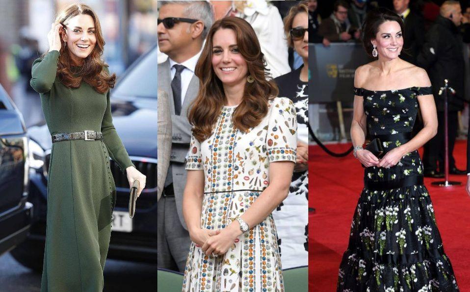 Kate Middleton y los vestidos de diseñador que ella ha modificado en más de una ocasión. (Foto: Instagram).