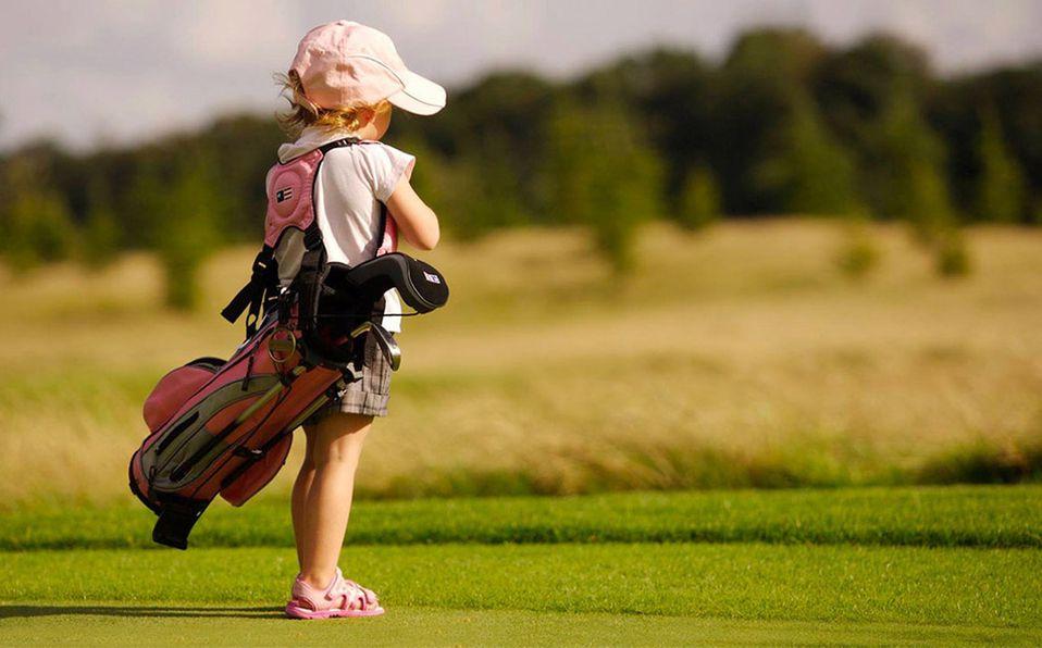 Conoce todos los beneficios del golf en los niños/ Foto: Cortesía