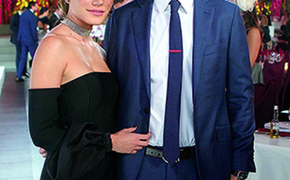 Ana Teresa Gallegos y Héctor Medina