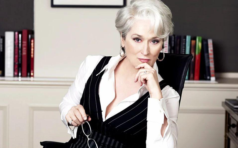 Meryl Streep revela que por Miranda Priestly pensó en abandonar la actuación