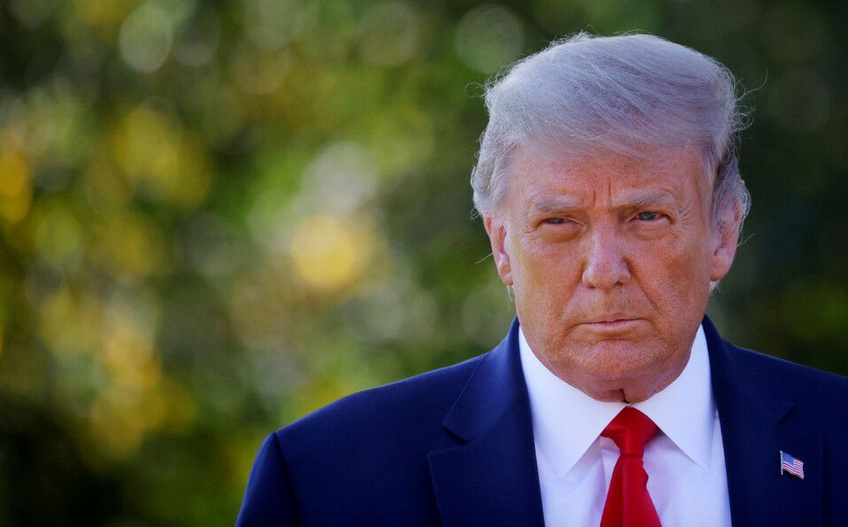 Trump dio positivo a covid-19: ¿Cuáles son los riesgos a su salud? (Foto: Reuters)