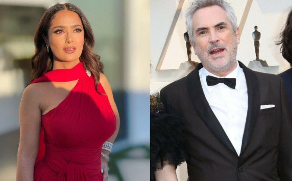 Salma Hayek y Alfonso Cuarón pasan vacaciones en Bora Bora