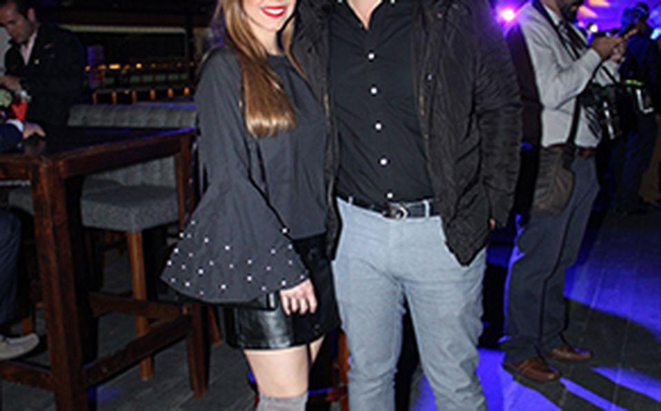 Sandra Aceves y Jorge Escoto