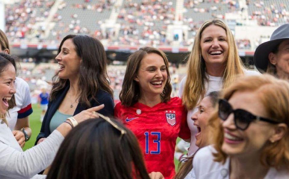 Natalie Portman y otras famosas fundan un equipo de fútbol femenil (Foto: Instagram)