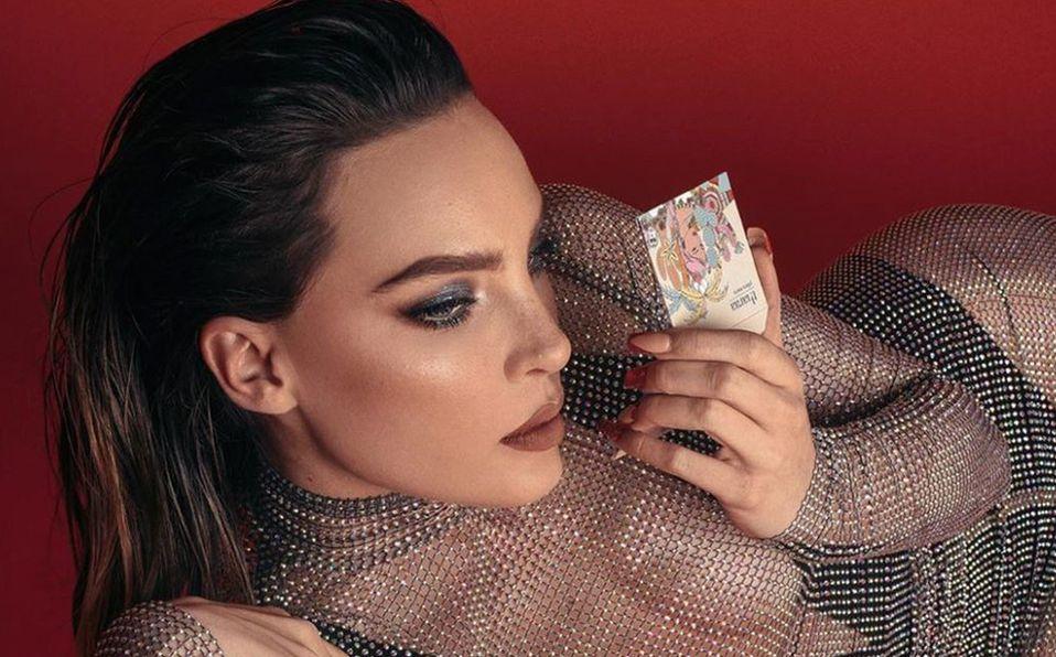 Belinda es la imagen oficial de su línea de belleza Tharaa Cosmetics. Foto: Archivo