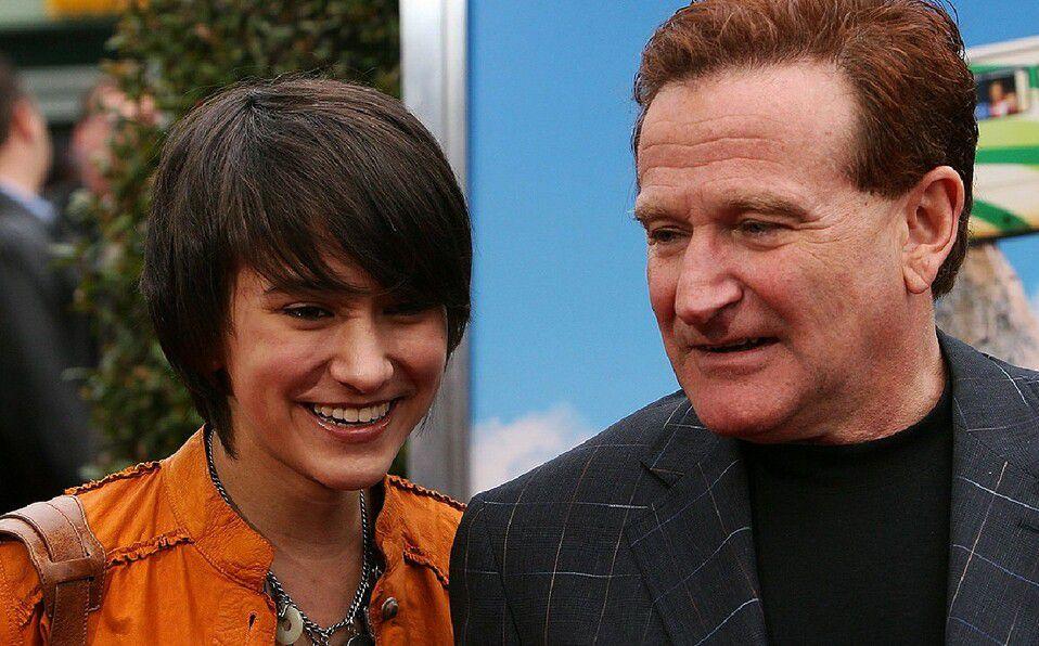 Zelda y Robin Williams (Foto: Instagram)