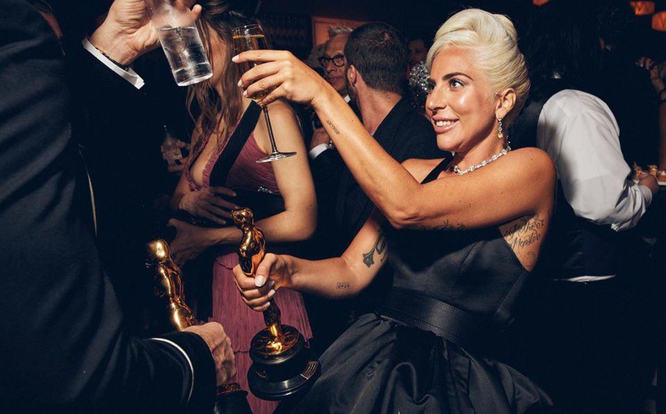 La cantante y actriz Lady Gaga vivió en 2019 su primera fiesta con un galardón en mano . Foto: Archivo