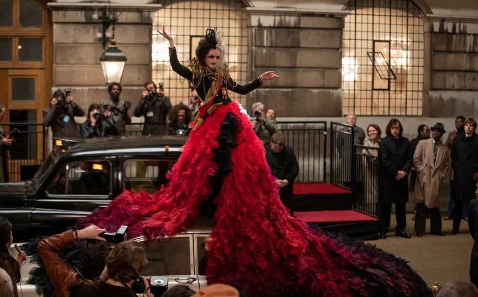 Cruella y los vestidos que la hacen la villana con más estilo de Disney (Foto: Disney)