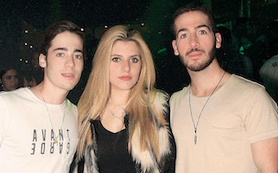 David Cantú, Raquel Rodríguez y José Andrés Cantú