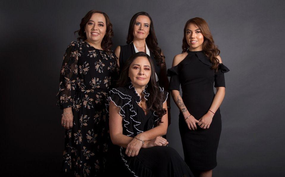 Blanca Estrada, Sandra Schoenhofer, Givanna Rivera y Silvana Sánchez / Foto: María Perezgrovas.