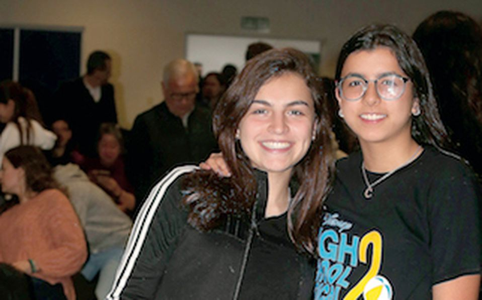 Daniela Lobo y Cristina Santiesteban