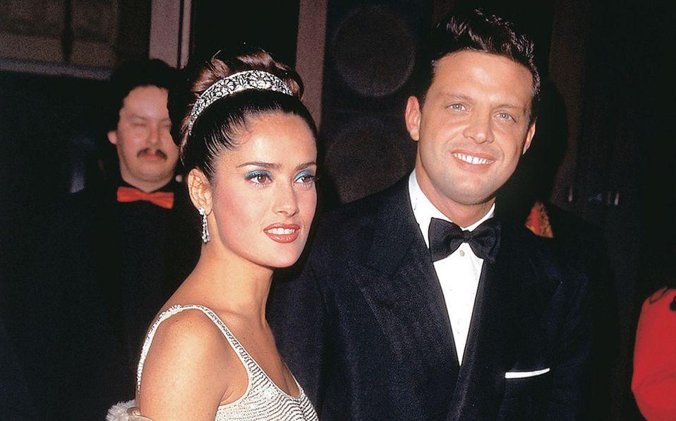 En una ocasión el cantante asistió a la premiación gracias a la invitación de Salma Hayek . Foto: Archivo
