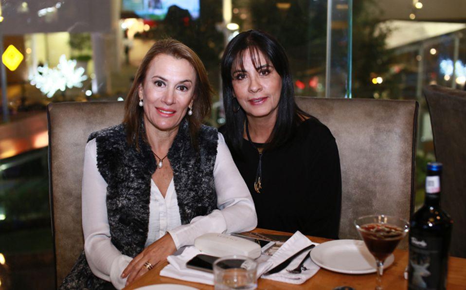 Eva Maldonado y Nena Luna