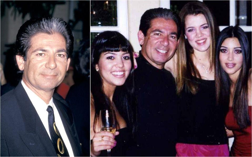Robert Kardashian: El padre y abogado racista de Kim (Foto: Instagram)