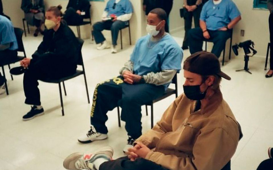 Justin Bieber asiste a prisión de Los Ángeles para hablar de Dios