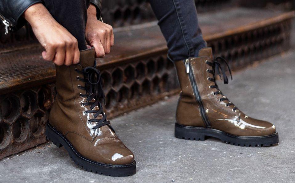 Luce fuerte y trendy al mismo tiempo usando las combat boots a su favor. Foto: Archivo