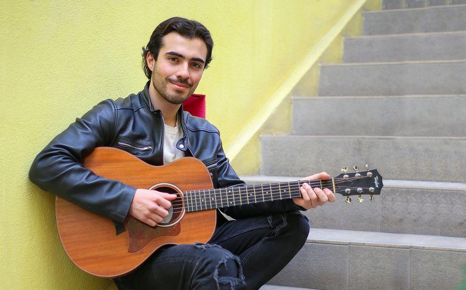 En el 2021, el cantautor Ernesto Getfer publicará un siguiente material musical. Foto: Aarón Solís