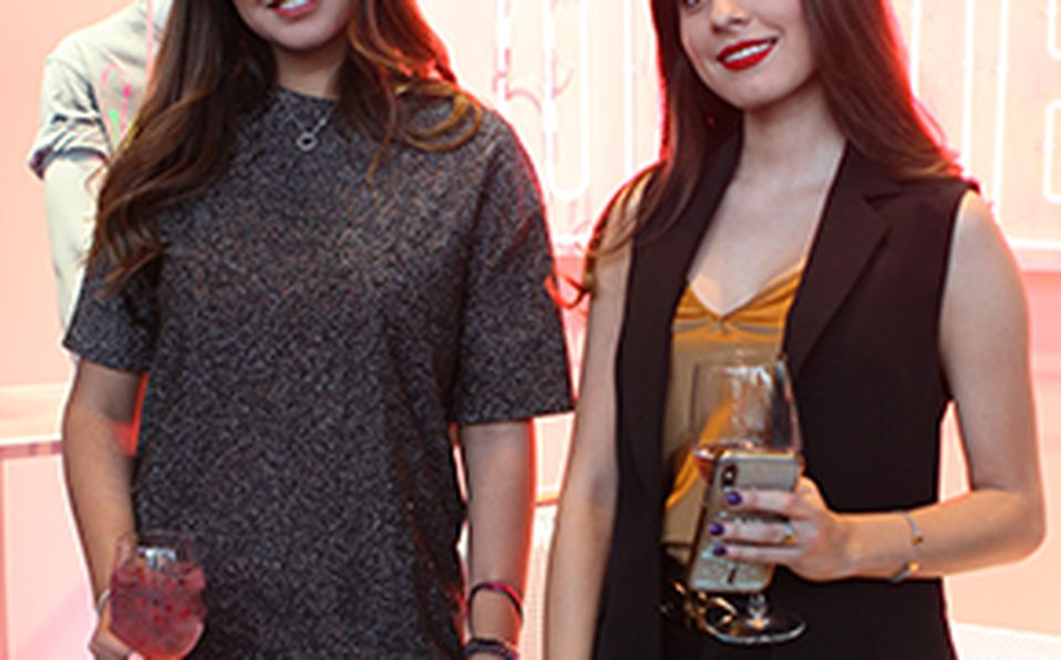 Daniela Magún, Andy Benavides y Jaydy Michel