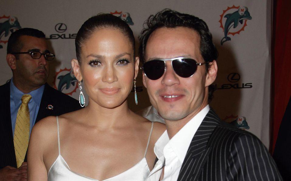 Jennifer Lopez y Marc Anthony desayunaron juntos en Miami