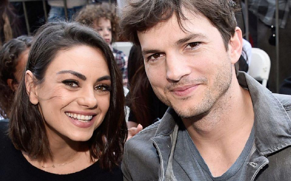 Mila Kunis y Ashton Kutcher, una historia de amor y amistad (Foto: Instagram)