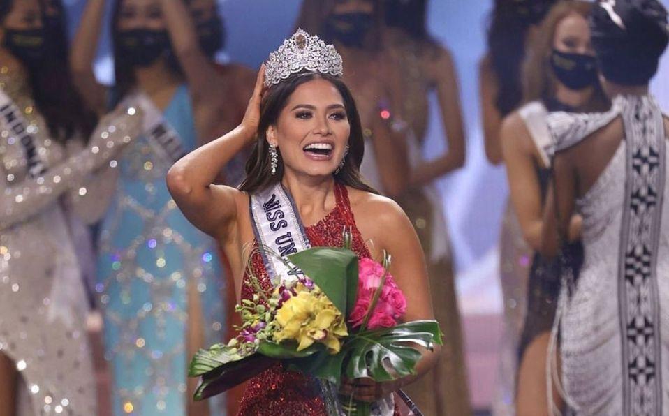 Andrea Meza y el vestido rojo mexicano con el que ganó Miss Universo (Foto: Instagram)