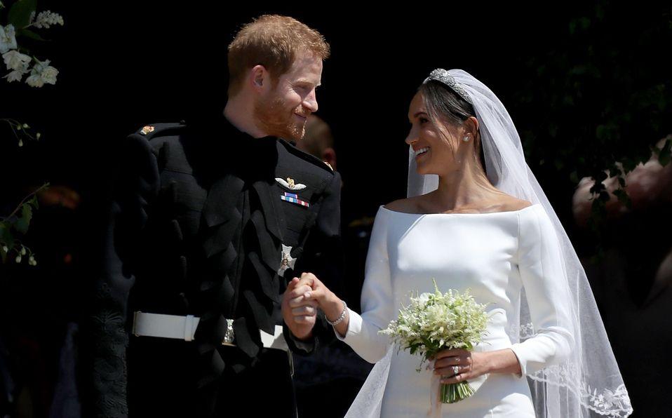 Harry y Meghan no se casaron días antes de su boda real (Foto: Getty Images)