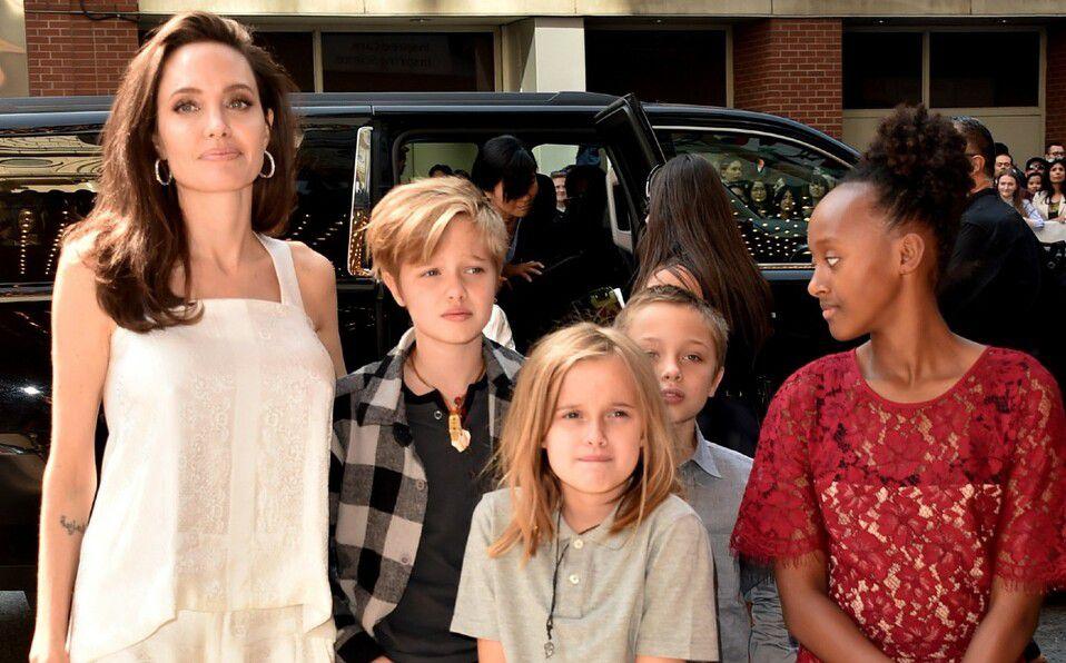 Revelaciones que harían los hijos de Angelina Jolie en la corte (Foto: Instagram)