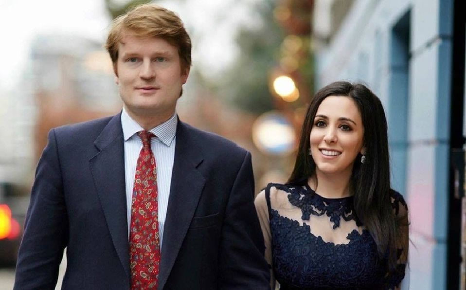 Hanna Jaff y Henry Roper se separan tras 18 meses de matrimonio. (Foto: Instagram).