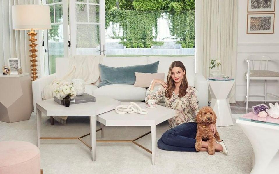 Miranda Kerr debuta como diseñadora de muebles este año (Foto: Instagram)