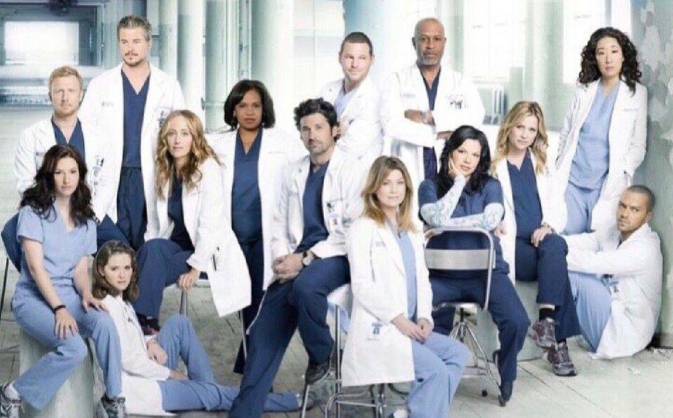 Elenco de la serie de televisión Grey's Anatomy (Foto: Instagram).