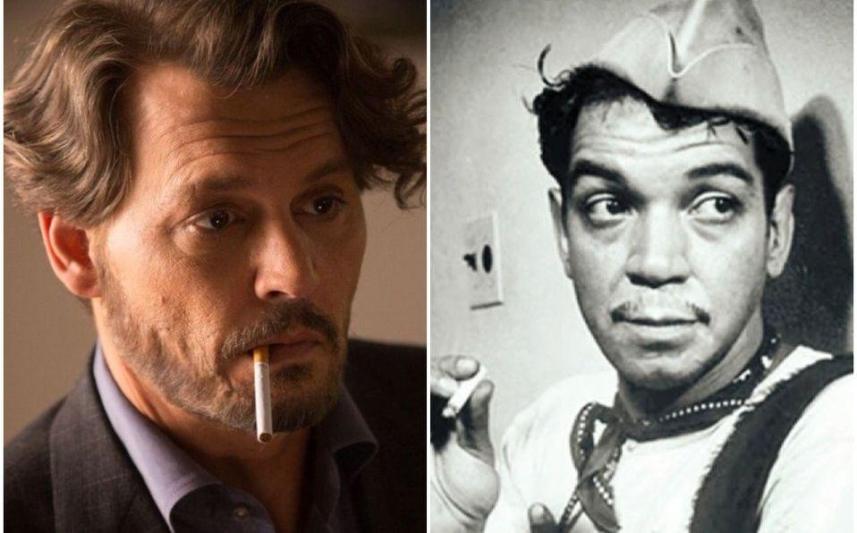 Johnny Depp quiere ser Cantinflas en una película (Foto: El Profesor)