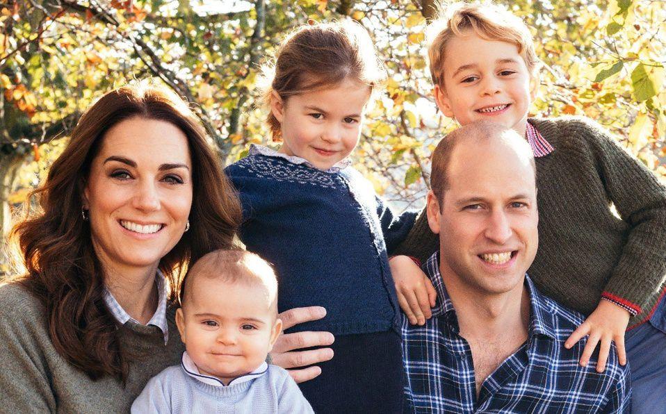 Kate Middleton y William: Filtran su postal navideña familiar (Foto: Instagram)