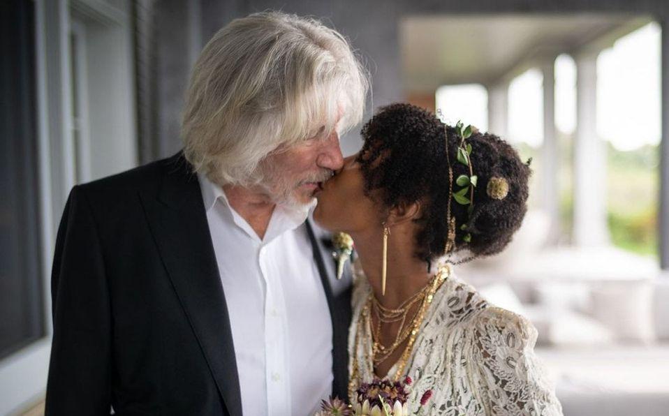 Roger Waters se casa por quinta vez a sus 78 años; así fue la boda (Foto: Instagram)