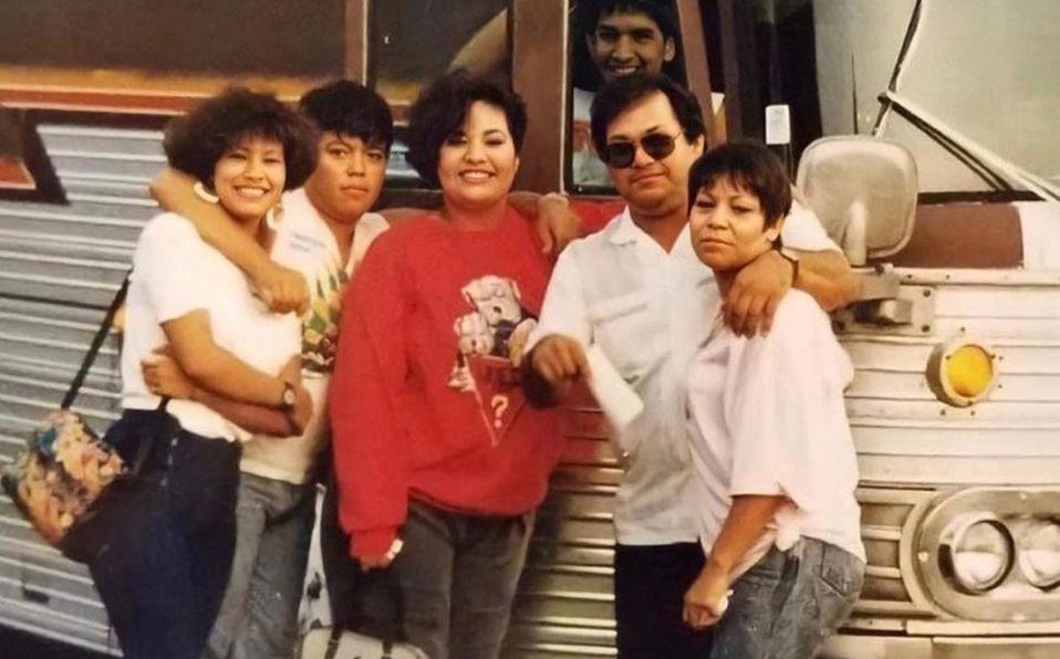 Selena, Abraham III, Suzette, Abraham JR y Marcella Quintanilla (FOTO: Instagram).