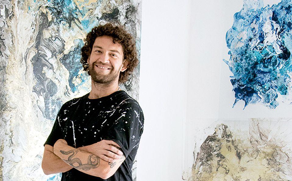 Nacho Aldana presenta piezas en abstracto