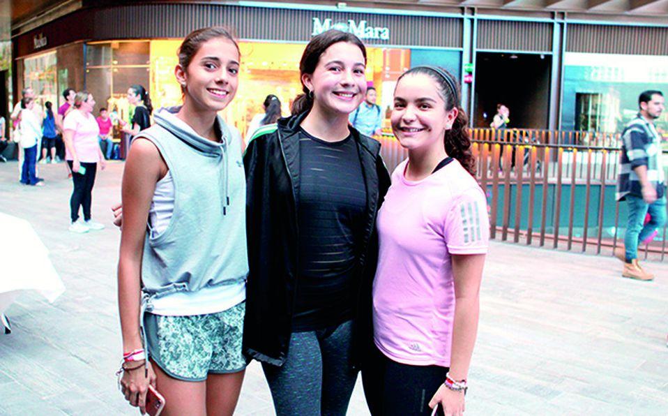 Alejandra Urrea, Carla Farías y Elsa Sánchez