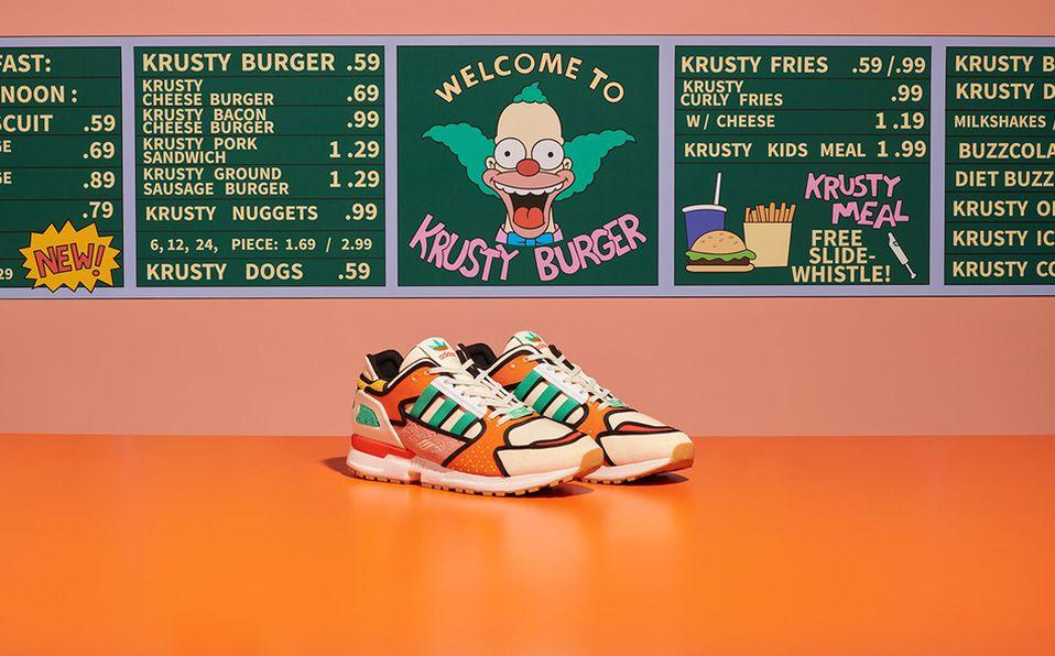Adidas se inspira en Los Simpson para sus próximos tenis deportivos. Foto: Archivo