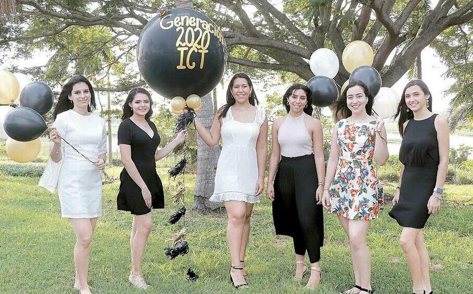 Iris Ascensión, Daira Parga, Fátima Morales, Ceci Roux, Camila Delgado y Majo Orta / Foto: Dennis Hernández