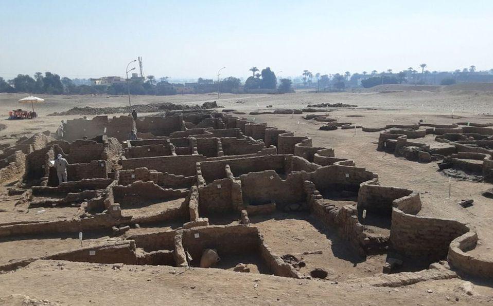 Ciudad perdida en Egipto