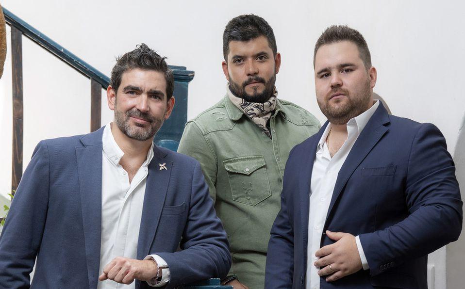 Carlos Finck, Teo Ríos y Daniel Suárez nos comparten sus secretos desde la cocina (Foto: Jos Álvarez fotografía)