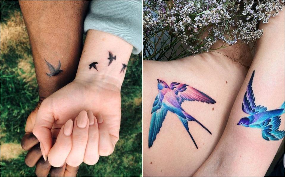 Las mejores ideas para tatuajes en pareja 2021 (Foto: Instagram)
