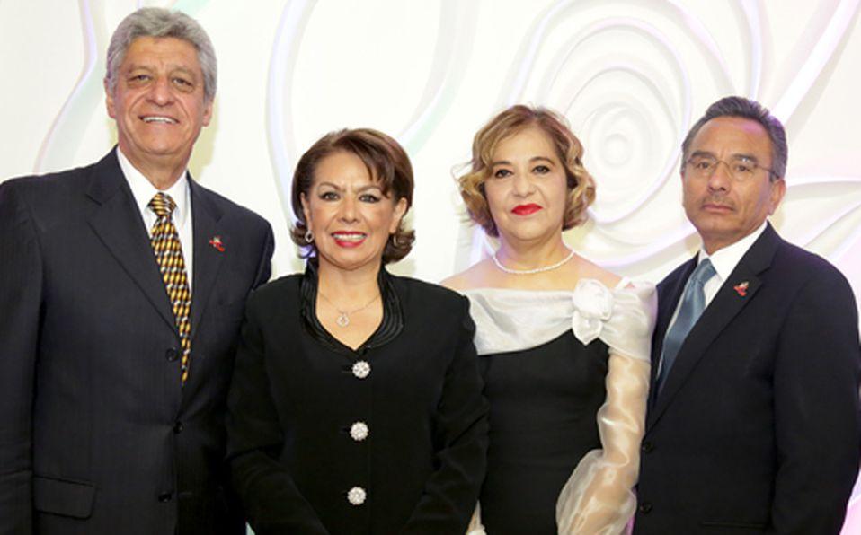 Juan José Castillo, Sofía Muñoz, Martha Azpra y José Luis Muñoz ##