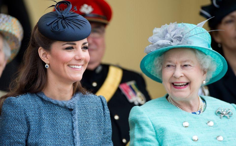 Kate Middleton, la favorita de la Reina, y esta foto es la prueba (Foto: Getty Images)