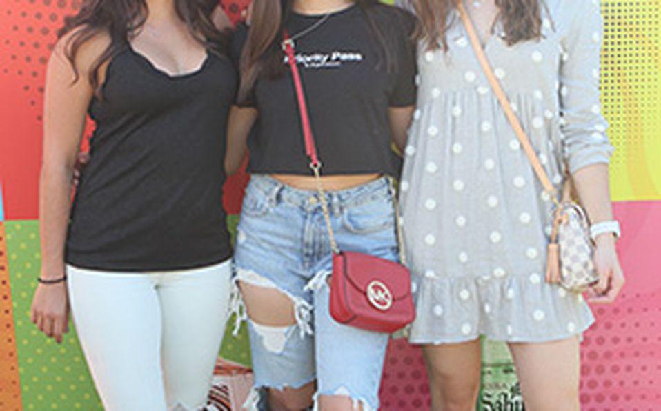 Celina Gleason, Sofía Aguilar, Paulina Bresio y Valeria Barajas